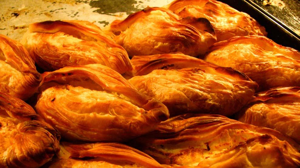 I classici pastizzi della cucina maltese.